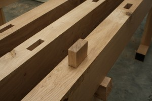 The Oak 'Artisan' – Gluing up the Top