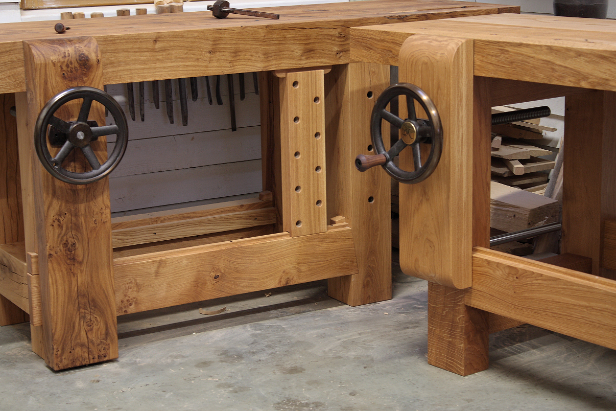 Custom Work Bench PDF Woodworking