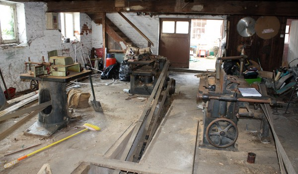 Line Shaft Machinery back in Kent