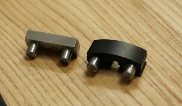 Steel and aluminium dogs