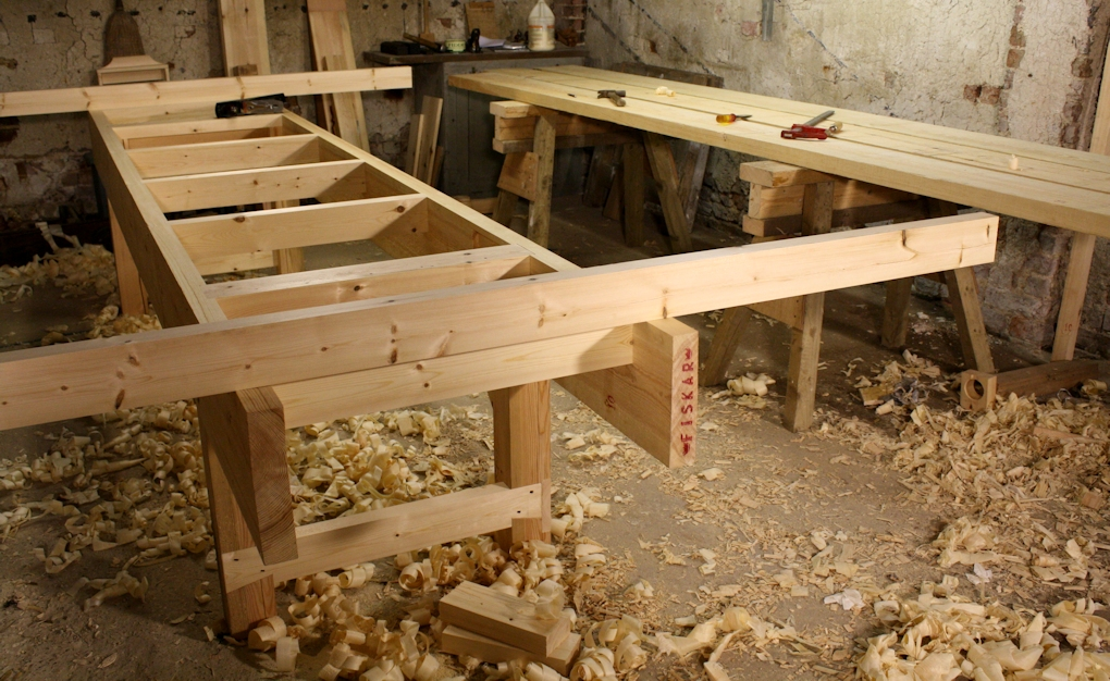 ... right' workbench height will depend on the tools and methods used