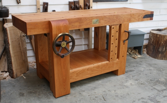 Roubo workbench in cherry