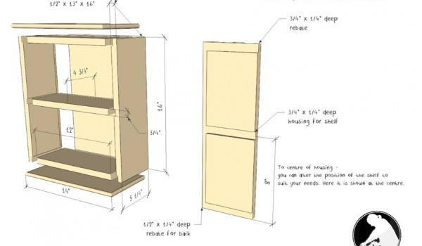 wall cupboard project plan