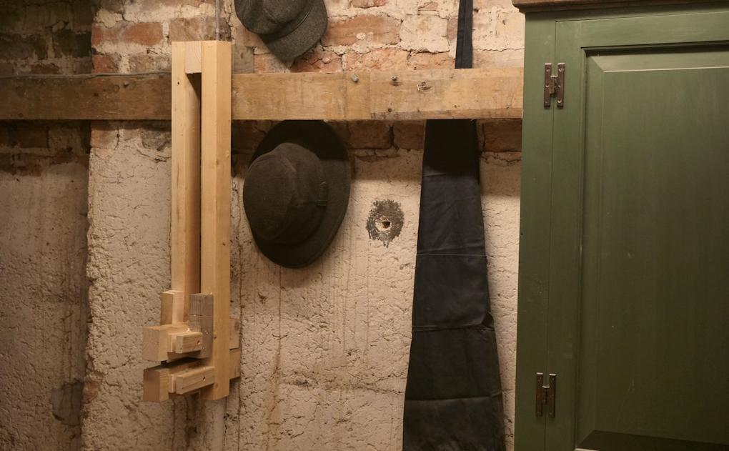 lathe stored