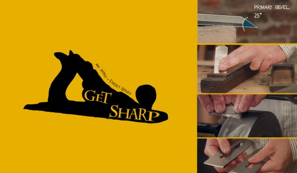 How to sharpen hand tools. Video series.