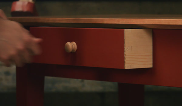 build a hall table online video
