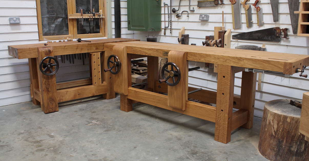 Maguire Nautilus Workbench in Oak - The English Woodworker