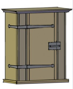 Medieval Wall Cupboard