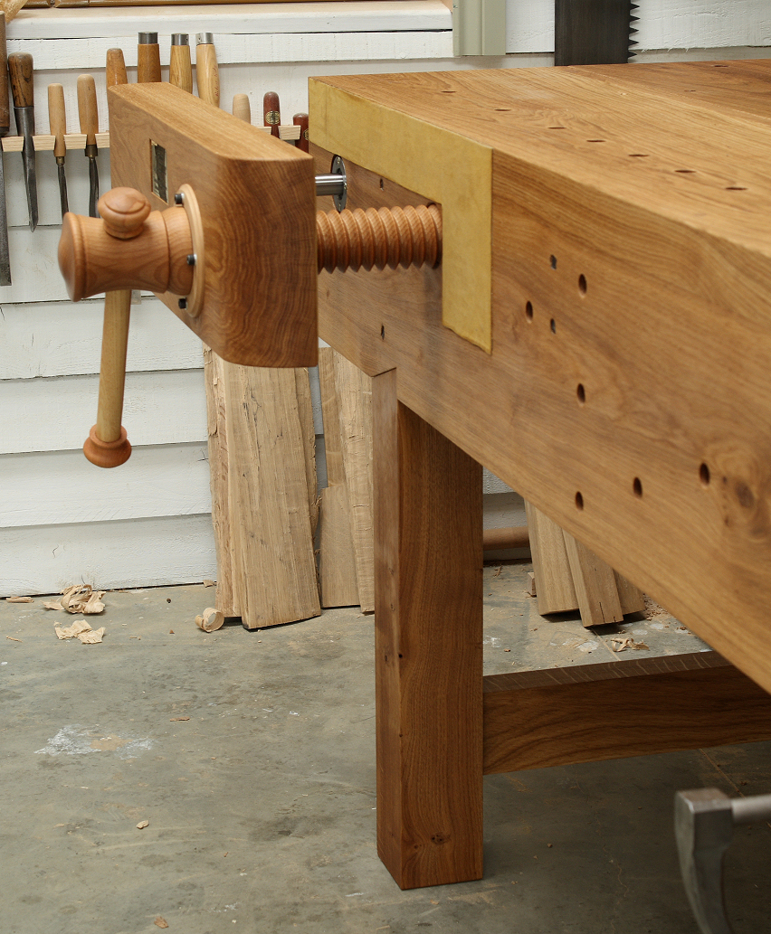 Nicholson bench with face vise