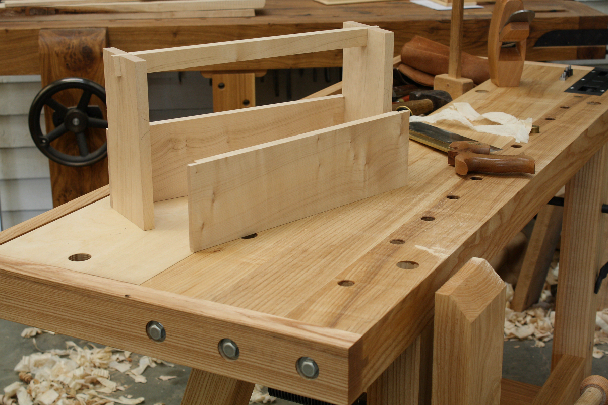 Small Woodworking Bench The Little John Hand Tool Workbench
