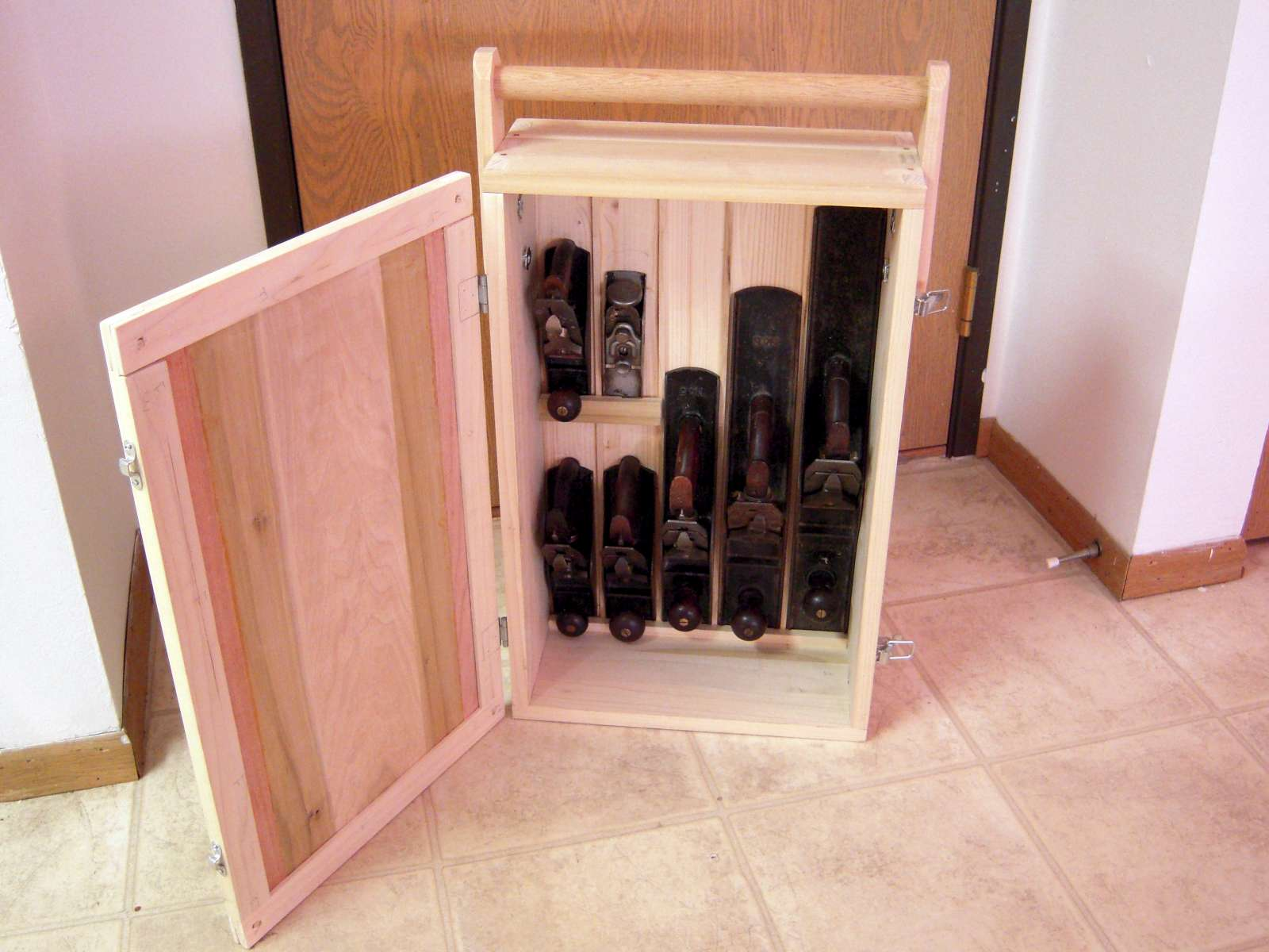 Chris S Tool Storage The English Woodworker