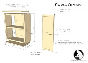 The Wall Cupboard – Downloadable Plan