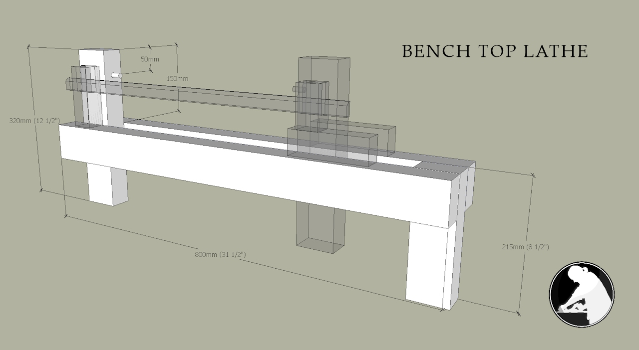 Bench top lathe the plan the english woodworker bench top lathe plan pooptronica