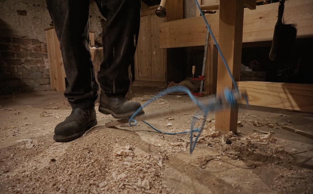 foot powered lathe