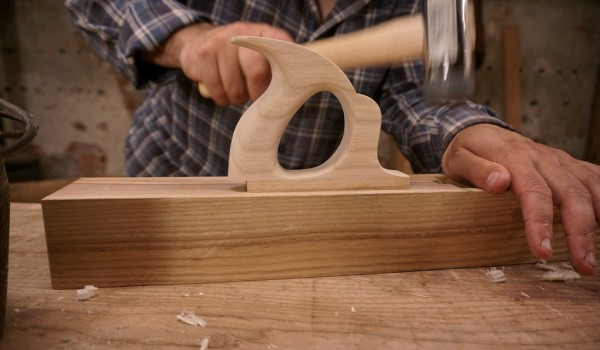 Home Made Jointer Plane Handle