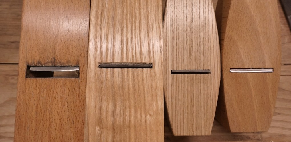 A look at mouth widths on different types of wooden hand plane