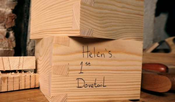 Dovetails by hand