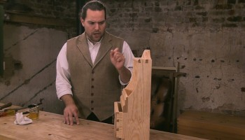 The English Woodworker Spoon Rack Series