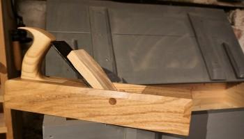 Wooden jack plane