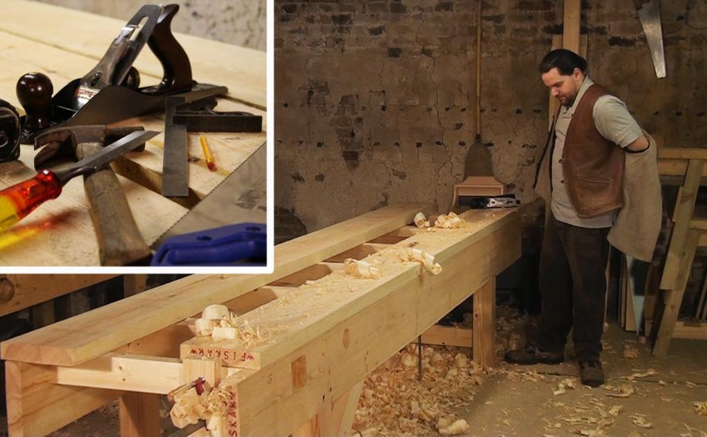 Marvelous Build A Workbench Top Thats Simple Yet Strong Workbench Inzonedesignstudio Interior Chair Design Inzonedesignstudiocom