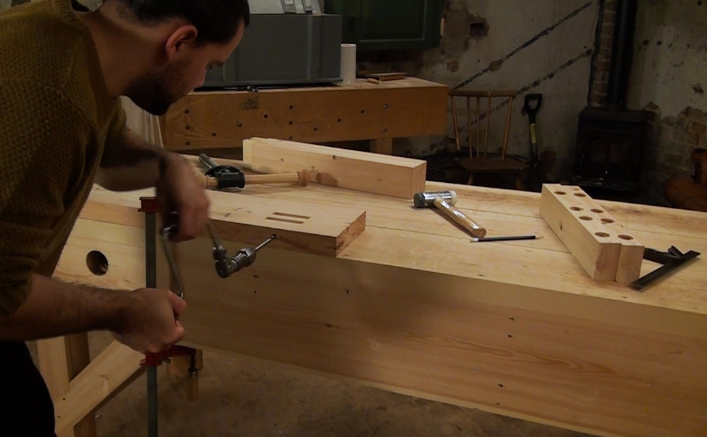 Building a face vice