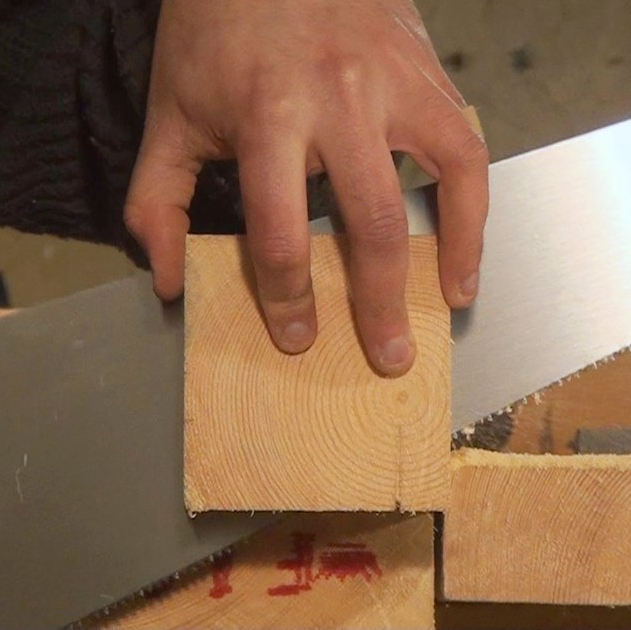 Sawing Thick Stock Square