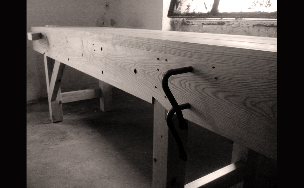 Aleksander has done a fantastic job of building his English Workbench.