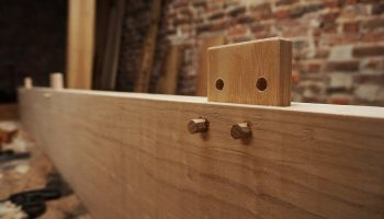 Loose tenon for reinforced edge jointing