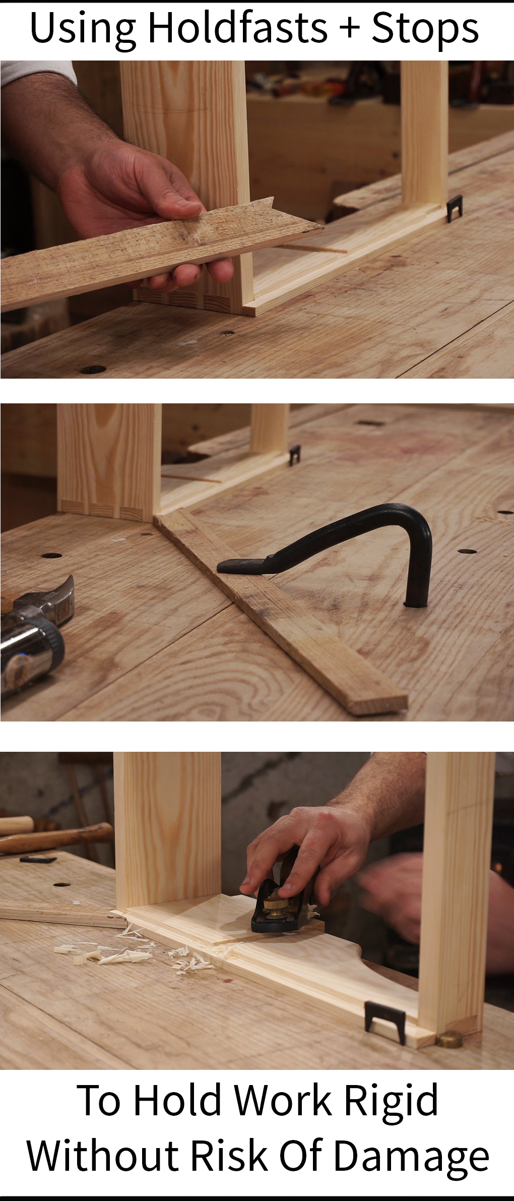 Holdfasts Woodworking The Workbench Problem Solver