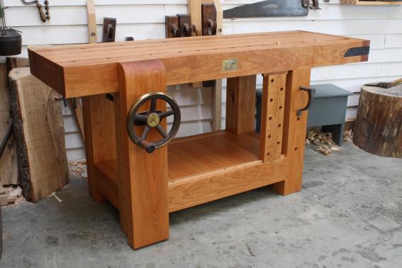 workbench built in cherry
