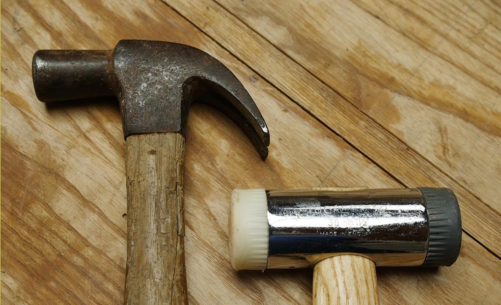 plane adjustment hammer
