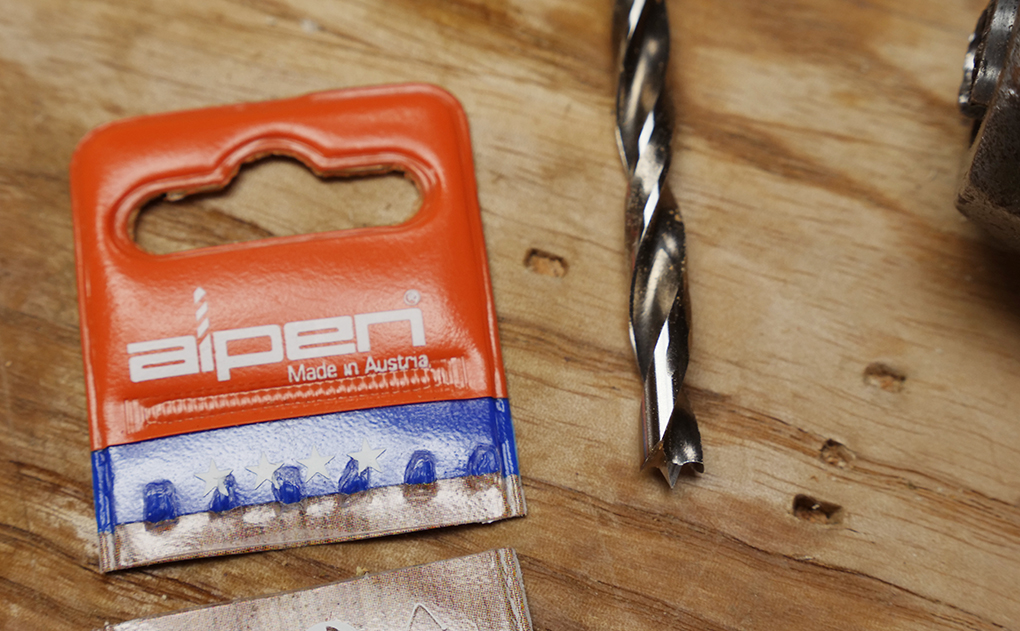 Alpen HSS dowel drill