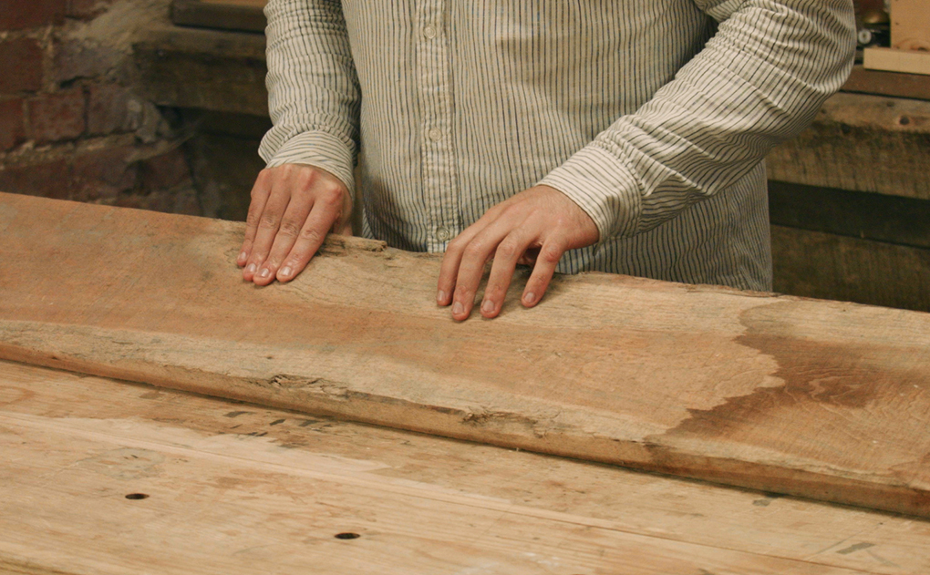 timber selection sap wood in cherry