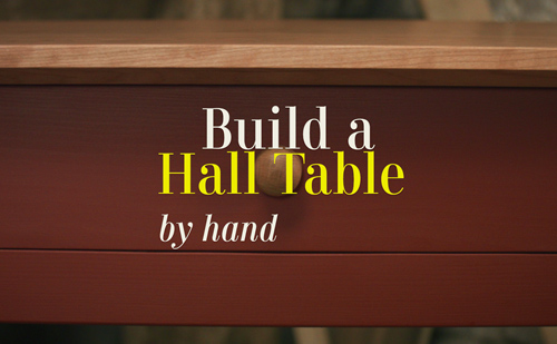 how to build a table video