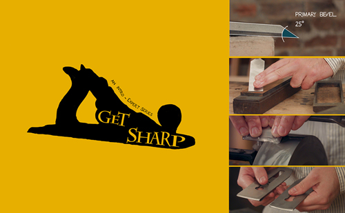 learn how to sharpening hand tools