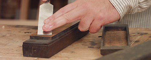 how to sharpen free hand