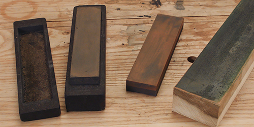 learn which sharpening stones and grits to use