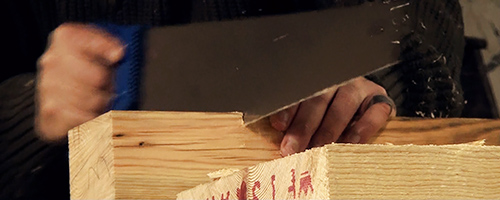 sawing workbench legs
