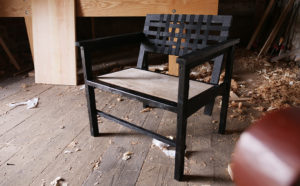 designing and building a chair