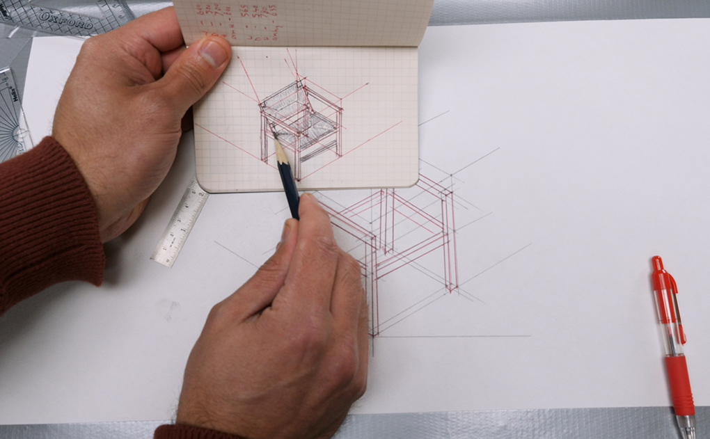 how to draw in isometric