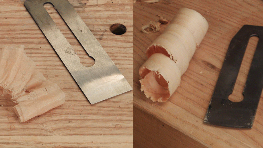 using a hand plane for different shavings