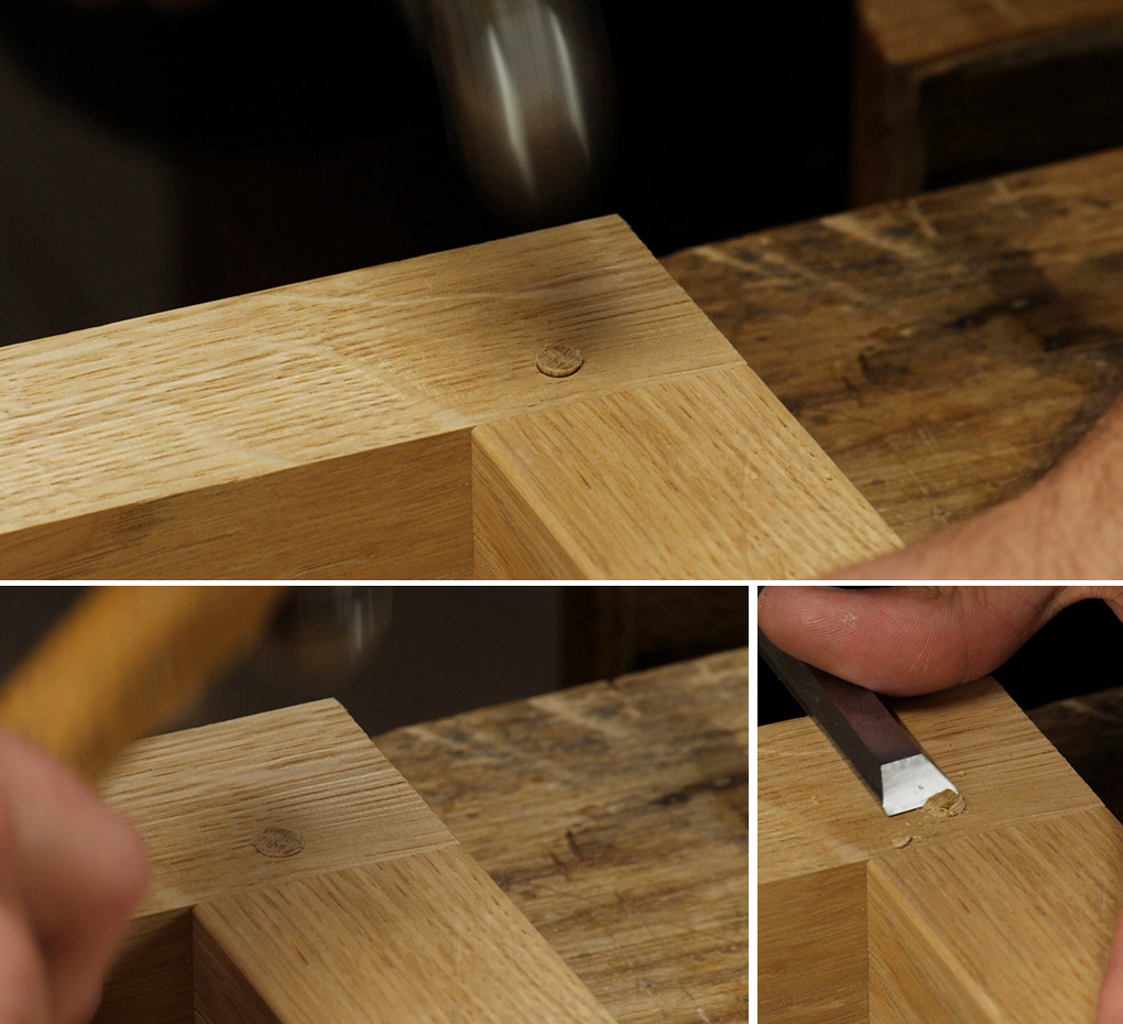 pegged motice and tenon joint