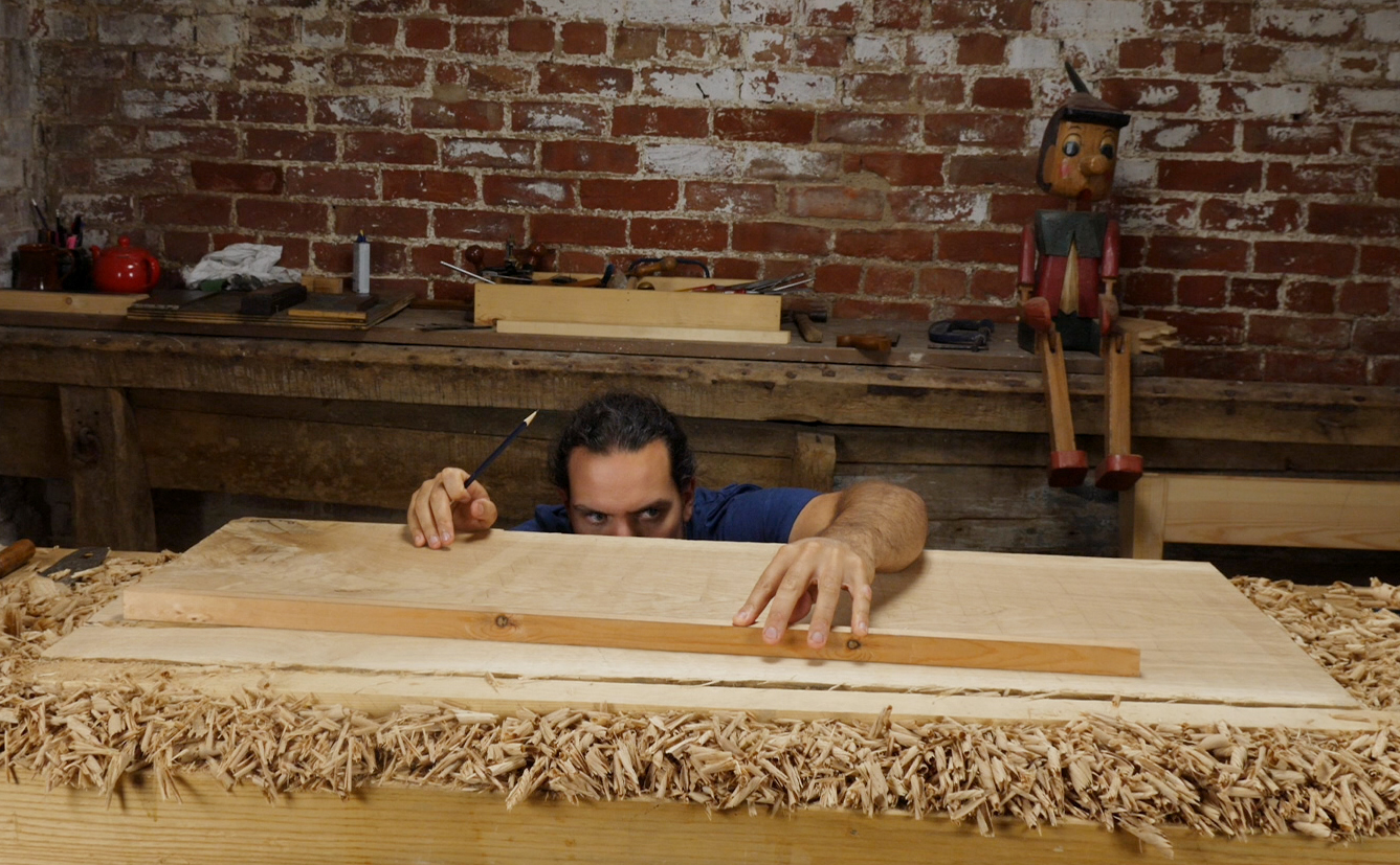 flattening a board with hand planes