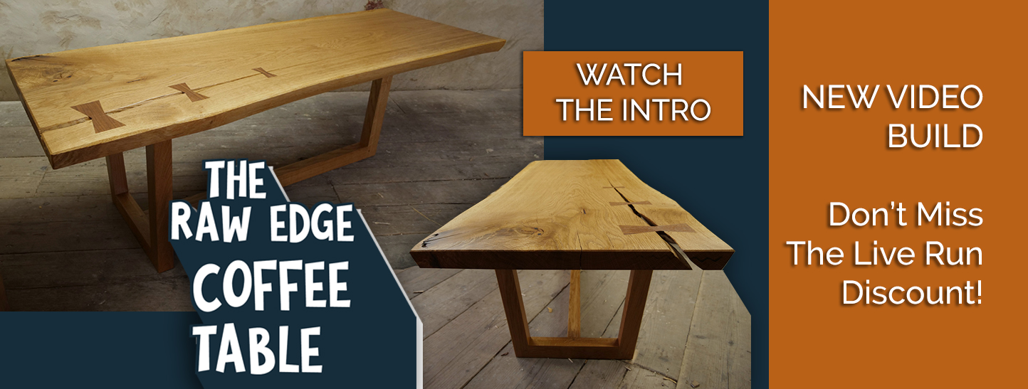 how to build a coffee table video